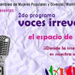 Voces Irreverentes – 2do programa marzo