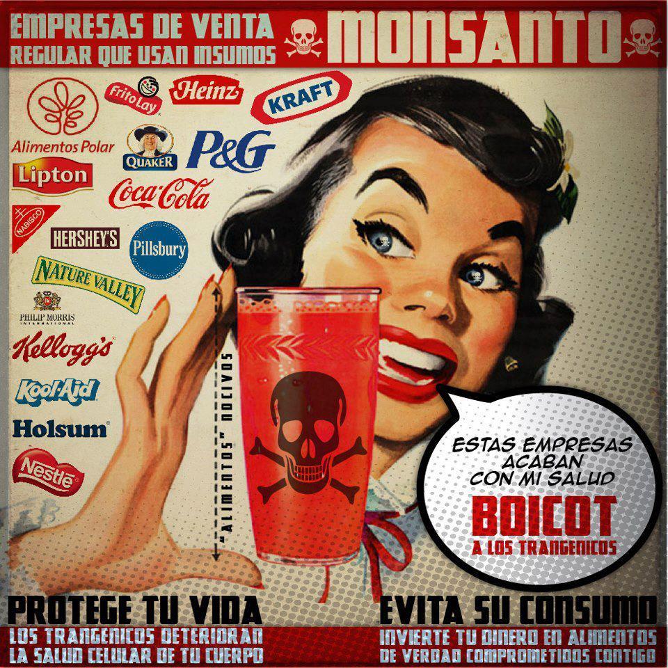 Marcha mundial contra Monsanto – Ojo de agua