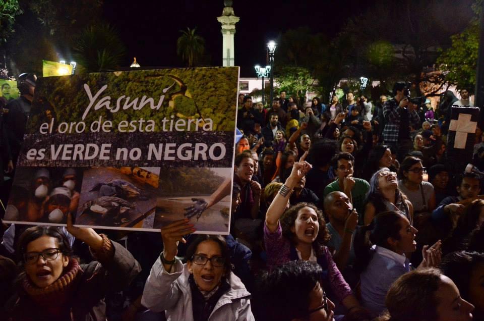 Frente de resistencia incia acciones en todo Ecuador – Boletín de prensa