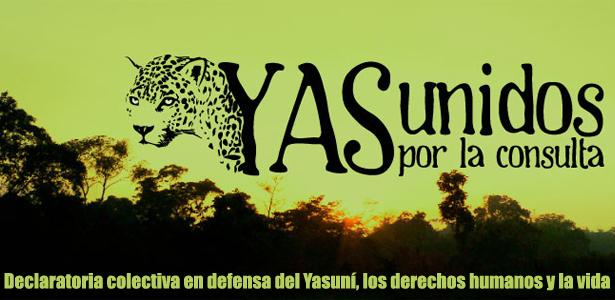 Declaratoria colectiva en defensa del Yasuní, los derechos humanos y la vida