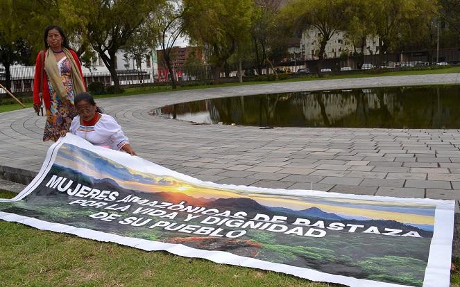 Kawsay sacha, selva viviente: Una propuesta anti petrolera desde la Amazonía ecuatoriana – Ojo de agua