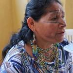 "Zoila Castillo: ""Las mujeres amazónicas venimos a decir basta»"