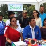 Yasunidos: sigue la minga por el Yasuní
