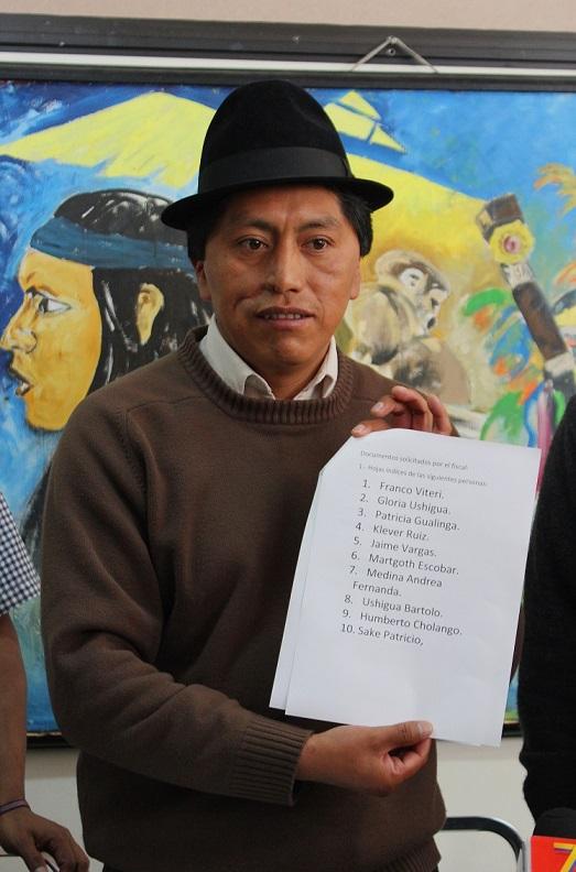 10 dirigentes indígenas investigados por protestas XI Ronda Petrolera