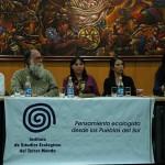"""Gloria Chicaiza: """"Empresas extractivas chinas invaden y afectan el patrimonio ecuatoriano"""""""
