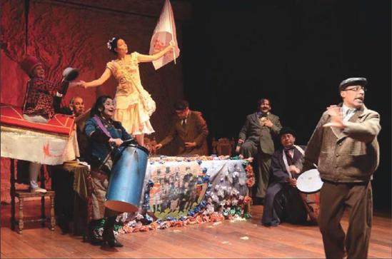 Casa Malayerba: teatro para sobrevivientes