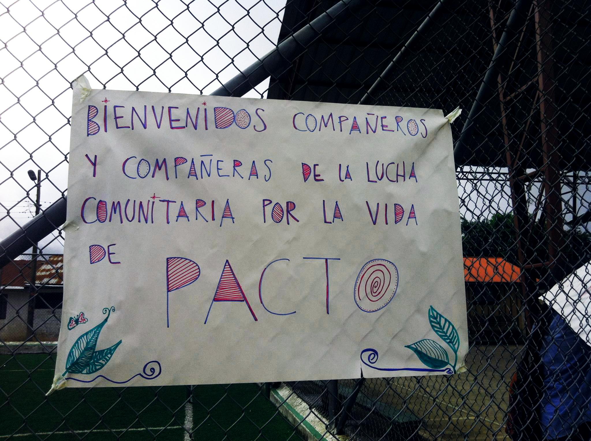 Consulta Comunitaria en Pacto busca preservar la vida