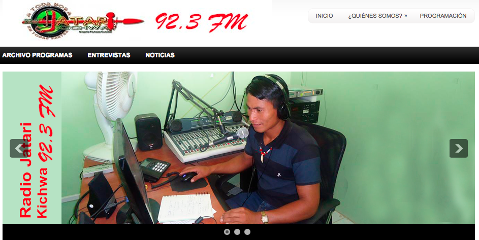 Radios Comunitarias transmiten online desde Amazonía de Ecuador