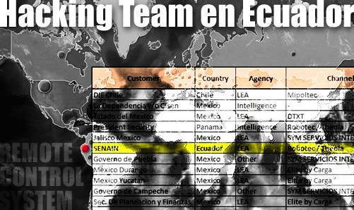 mapa hackinteam ecuador