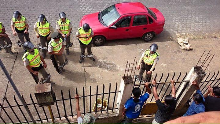 Policía llega a Radio comunitaria La Voz de la Nae