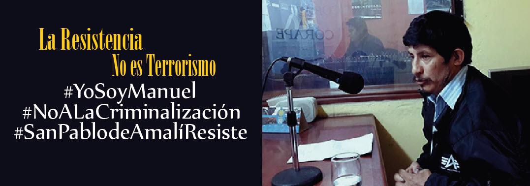 """Yo soy Manuel """"Tengo 8 días más de libertad en Ecuador"""""""