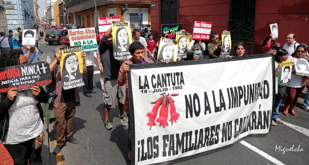 Perú: Que el dictador cumpla su condena