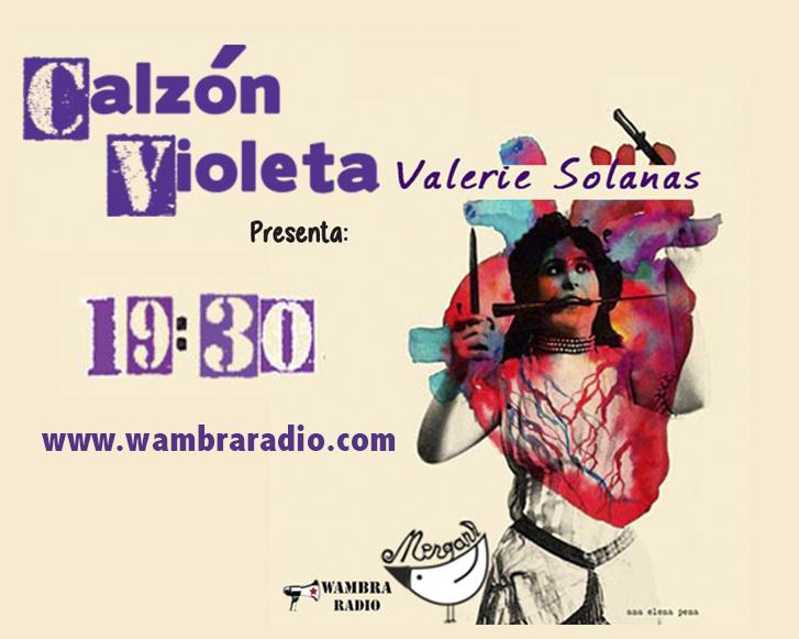 Calzón Violeta – Valerie Solanas