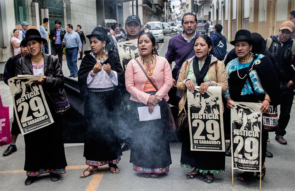 """Julio Lima: """"El pueblo de Saraguro no merece la cárcel"""""""