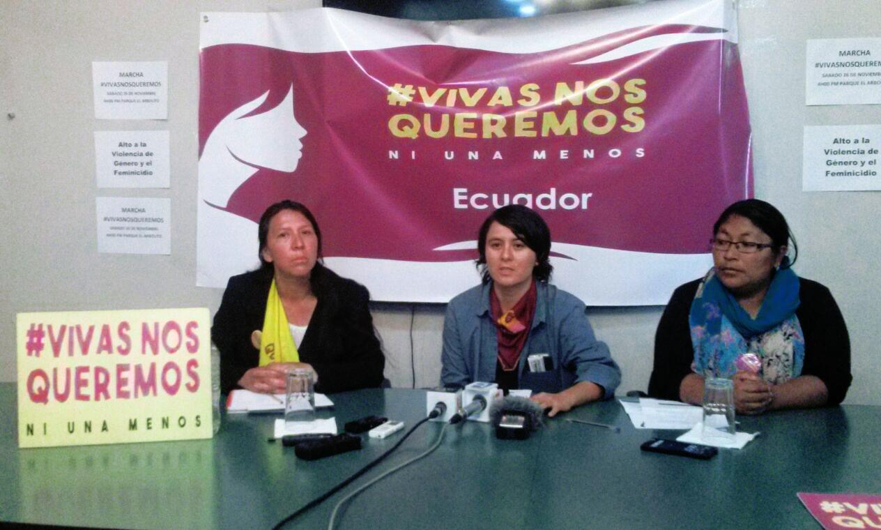 Marcha Vivas nos Queremos exige al Estado respuesta a violencia de género