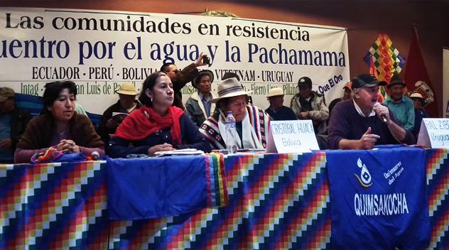 Azuay se pronuncia por Kimsacocha libre de minería a gran escala