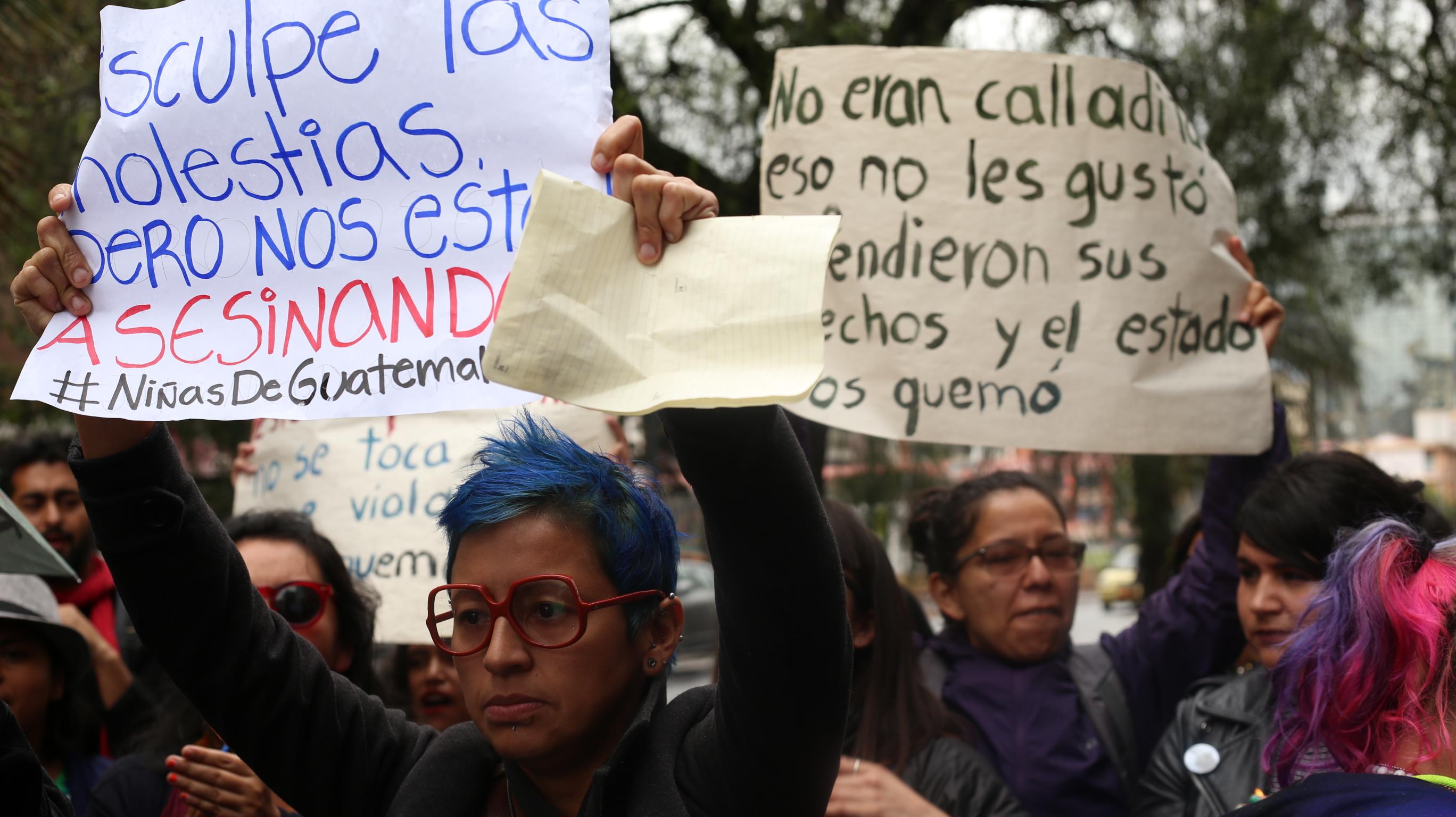 Ecuador se une al grito por las niñas de Guatemala