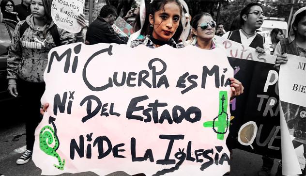 Las emputadas se toman las calles de la Franciscana ciudad de Quito