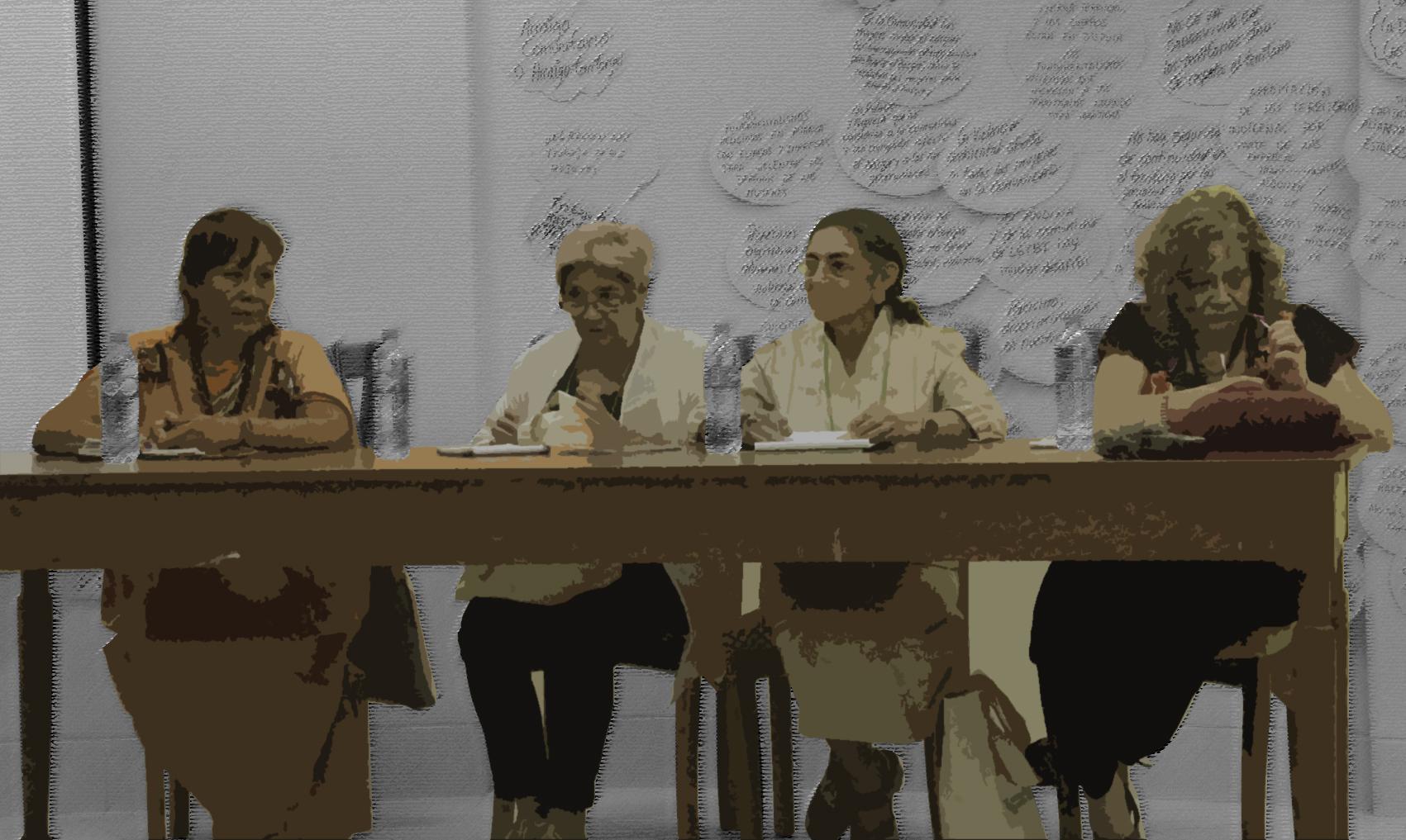 """""""Nos están matando"""": el grito de las mujeres amazónicas en el Tribunal de Justicia"""