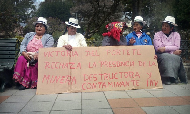 Río Blanco, la primera batalla contra el Festín Minero