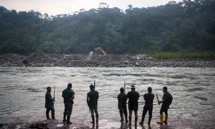 Sinangoe, y la defensa del Aguarico libre de minería