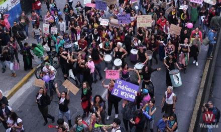 Movilizadas contra la violencia de género
