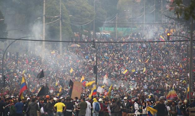 La protesta indígena y popular que levantó a Ecuador