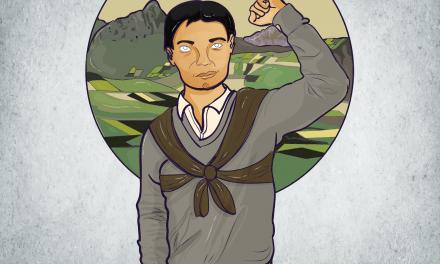 José Daniel Chaluisa Cusco: el cargador de luchas