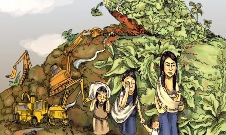 """Una """"herida abierta"""" por el extractivismo: serie radial"""