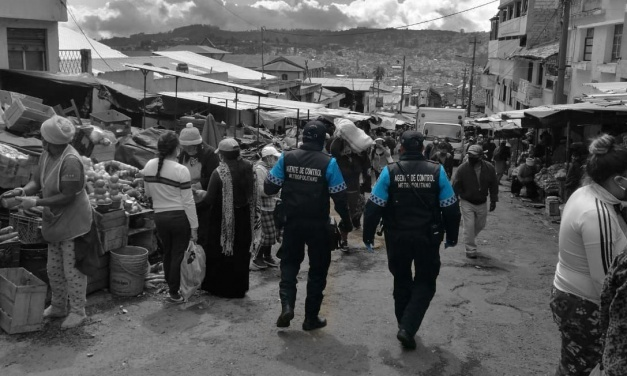 "Gabriela, Policía Metropolitana de Quito: ""ninguna emergencia se compara a esta"""