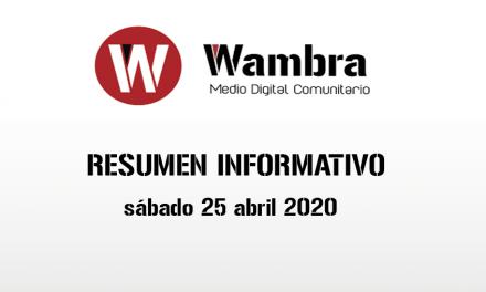 Corona Virus Ecuador – resumen sábado, 25 de abril de 2020