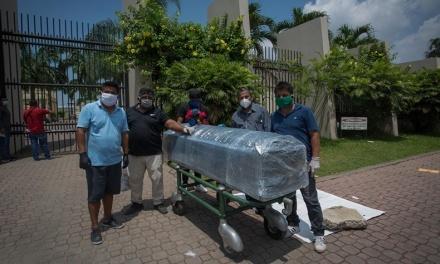 Crisis humanitaria en Guayaquil