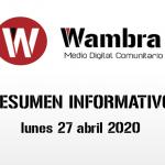 Corona Virus Ecuador – resumen lunes, 27 de abril de 2020