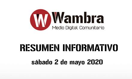 Corona Virus Ecuador – resumen sábado, 2 de mayo de 2020