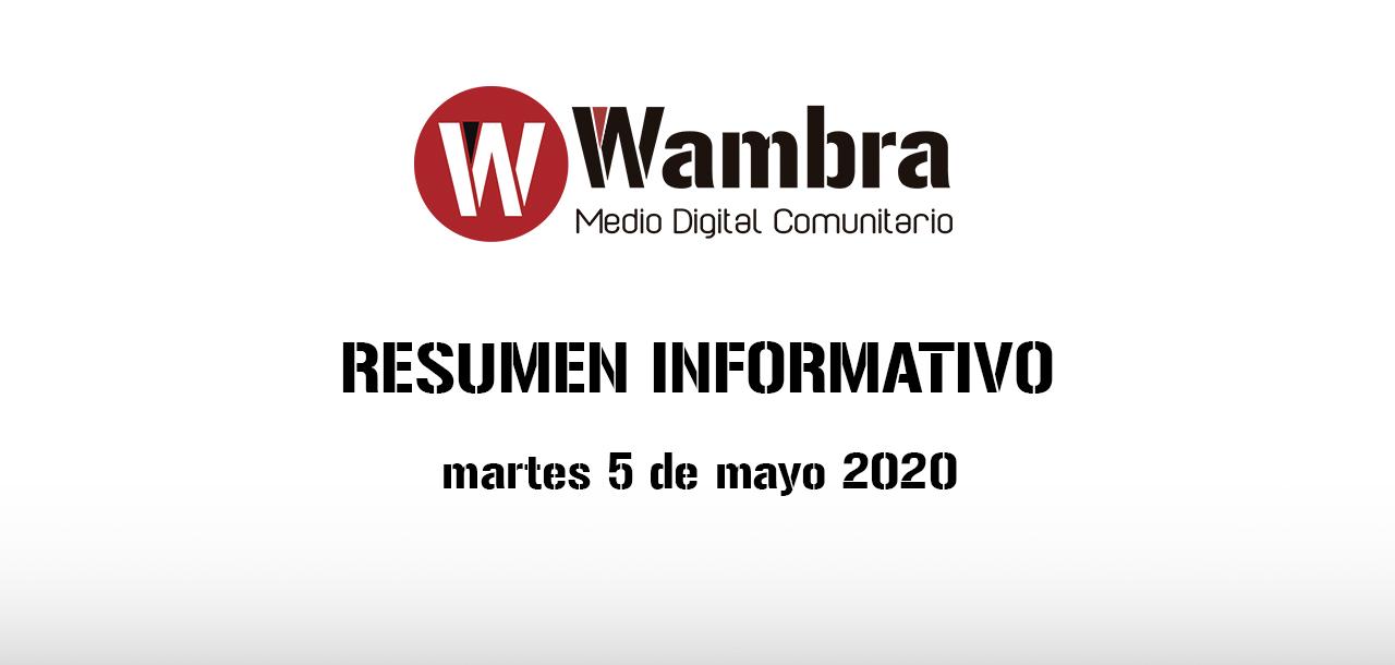 Corona Virus Ecuador – resumen martes, 4 de mayo 2020