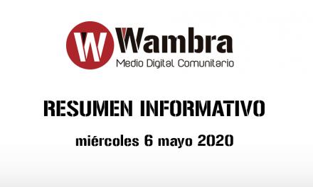 Corona Virus Ecuador – resumen miércoles, 6 de mayo 2020