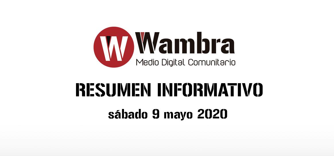 Corona Virus Ecuador – resumen sábado, 9 de mayo 2020