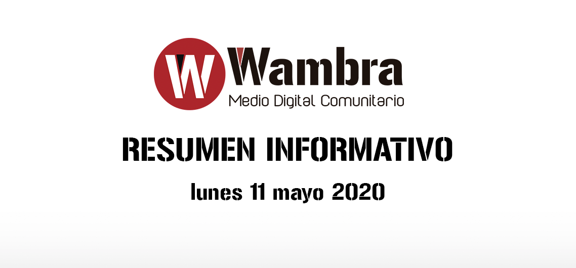 Corona Virus Ecuador – resumen lunes, 11 de mayo 2020