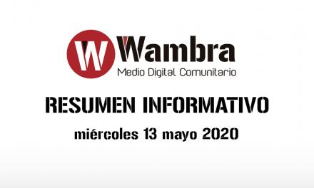 Corona Virus Ecuador – resumen miércoles, 13 de mayo 2020