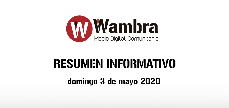 Corona Virus Ecuador – resumen domingo, 3 de mayo 2020