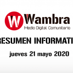 Corona Virus Ecuador – resumen jueves 21 de mayo 2020