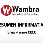 Corona Virus Ecuador – resumen lunes, 4 de mayo 2020