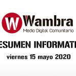 Corona Virus Ecuador – resumen viernes, 15 de mayo 2020