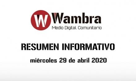 Corona Virus Ecuador – resumen miércoles, 29 de abril de 2020