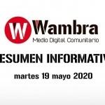 Corona Virus Ecuador – resumen martes 19 de mayo 2020