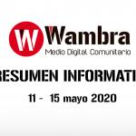 Corona Virus Ecuador – resumen 11 – 15 de mayo 2020