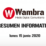 Corona Virus Ecuador – resumen 15 de junio 2020