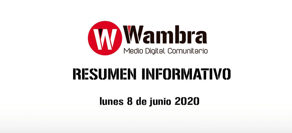 Corona Virus Ecuador – resumen 8 de junio 2020