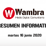 Corona Virus Ecuador – resumen 16 de junio 2020