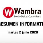 Corona Virus Ecuador – resumen 2 de junio 2020